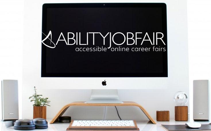 ABILITY Job Fair computer screen
